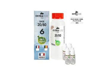 PACK 6mg 20PG/80VG 140ML