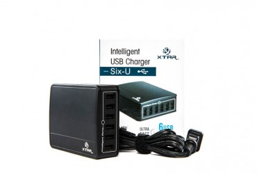 INTELLIGENT USB CHARGER SIX -  XTAR