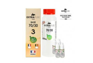 PACK 3mg 70 PG/30 VG 260ml